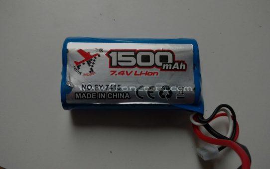 Li-ion 7,4V 1500mah Feiyue