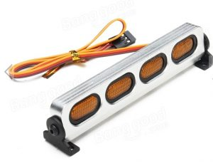 AUSTAR LED Light Aluminum Alloy Frame For 1/10 1/8 CC01/D90/SCX10 RC Car