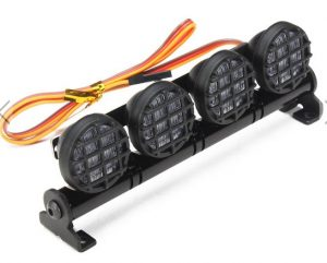 AUSTAR LED Light Aluminum Alloy Frame For CC01/D90/SCX10/4WD RC Car